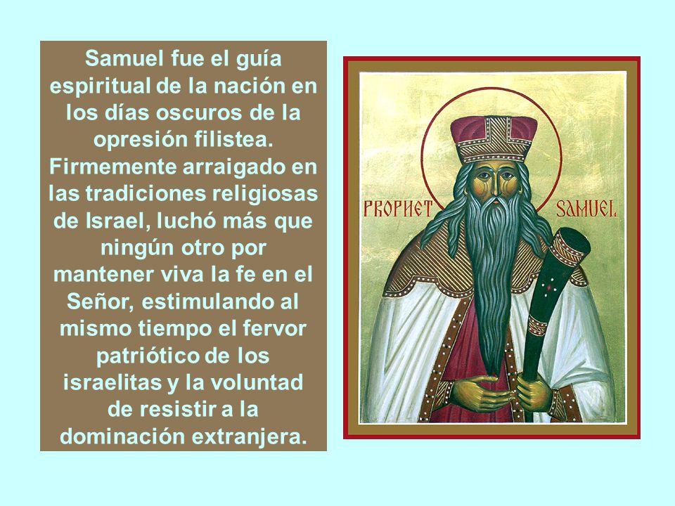LA PALABRA DE DIOS I LIBRO DE SAMUEL Los libros de SAMUEL formaban originariamente una sola obra, que luego fue dividida en dos partes, debido a la considerable extensión de la misma.