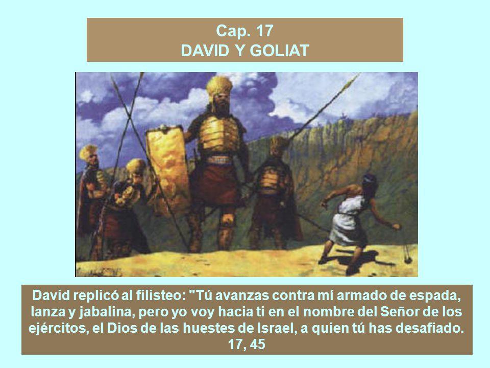 PREEMINENCIA DE DAVID Y DECADENCIA DE SAÚL El resto del primer libro de Samuel se ocupa casi exclusivamente de las relaciones de Saúl con David.