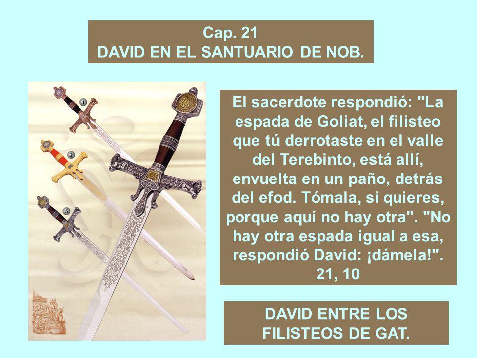 Cap.19 LA INTERVENCIÓN DE JONATÁN EN FAVOR DE DAVID.