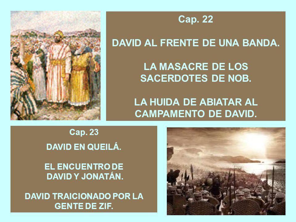 Cap.21 DAVID EN EL SANTUARIO DE NOB.