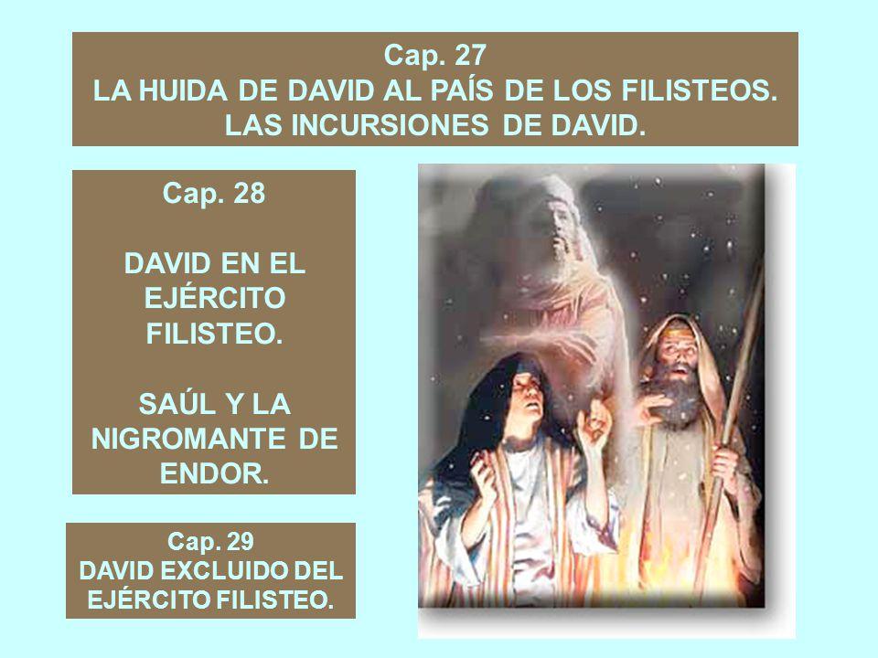 Cap.26 NUEVA PERSECUSIÓN DE SAUL CONTRA DAVID. SAÚL PERDONADO DE NUEVO POR DAVID.