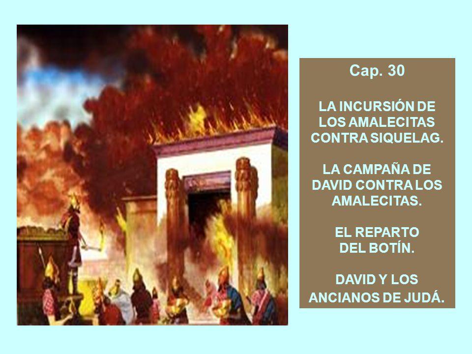 Cap.27 LA HUIDA DE DAVID AL PAÍS DE LOS FILISTEOS.