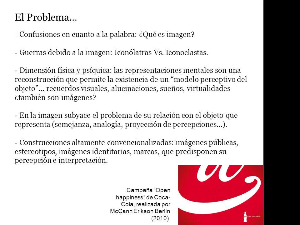 El Problema… - Confusiones en cuanto a la palabra: ¿Qué es imagen.