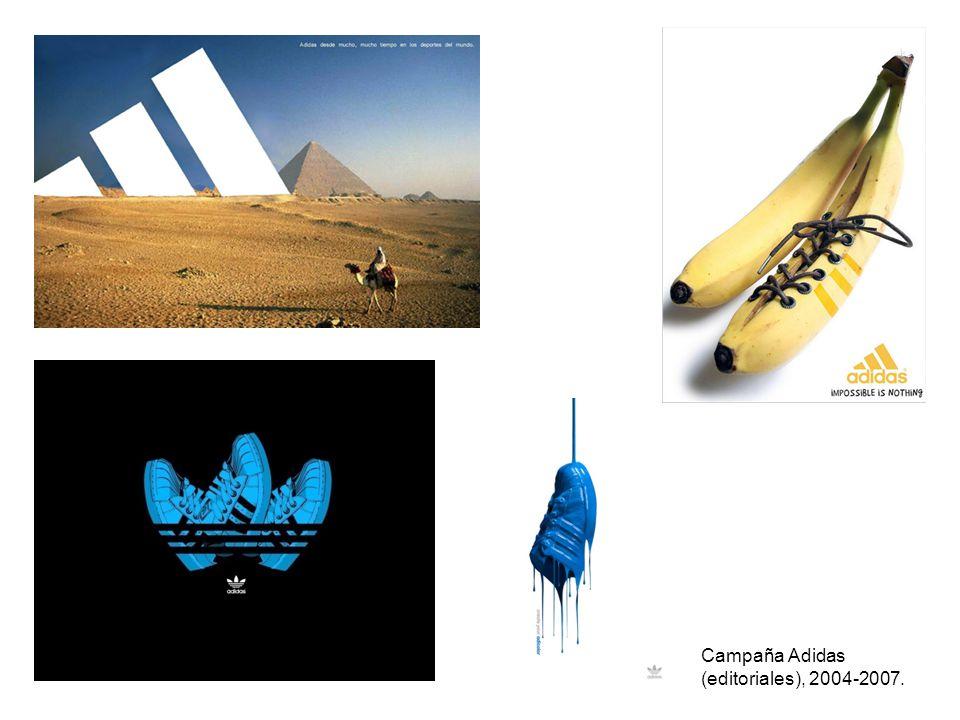 Campaña Adidas (editoriales), 2004-2007.