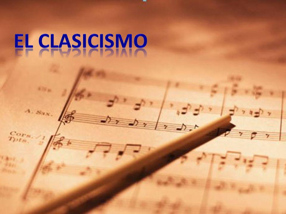 Origen del clasicismo Formas musicales Instrumentos Los compositores Obras destacadas La infancia de Mozart Bibliografía