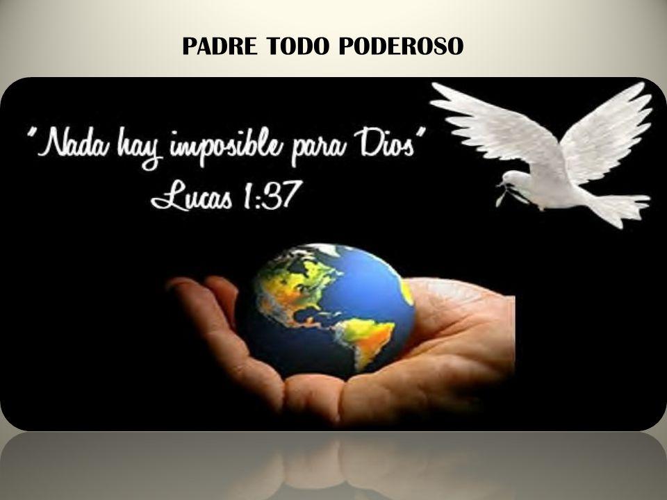 CREO EN UN SOLO DIOS Apártate, Satanás, porque está escrito: Al señor tu Dios adorarás, sólo a él darás culto