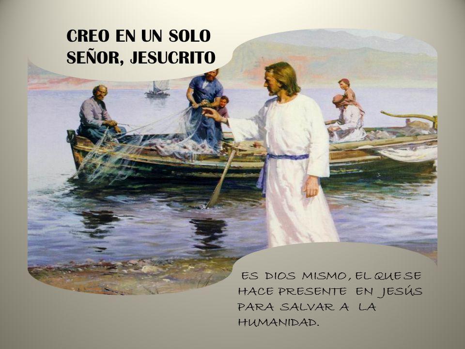 ES DIOS MISMO, EL QUE SE HACE PRESENTE EN JESÚS PARA SALVAR A LA HUMANIDAD.