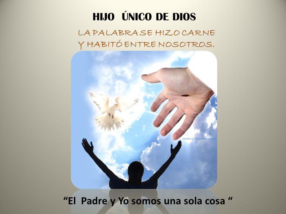 ES DIOS MISMO, EL QUE SE HACE PRESENTE EN JESÚS PARA SALVAR A LA HUMANIDAD. CREO EN UN SOLO SEÑOR, JESUCRITO