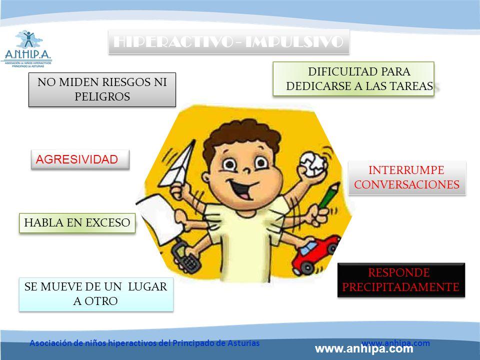 www.anhipa.com Asociación de niños hiperactivos del Principado de Asturiaswww.anhipa.com Etiología del TDAH Predisposición Genética Factores ambientales Base Neurobiológica TRASTORNO MULTIFACTORIAL