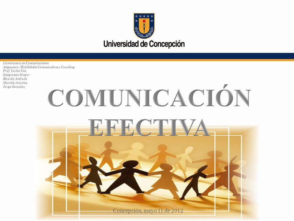 Licenciatura en Comunicaciones Asignatura: Habilidades Comunicativas y Coaching Prof. Carlos Cea Integrantes Grupo: Ricardo Andrade Marcela Aravena Jo
