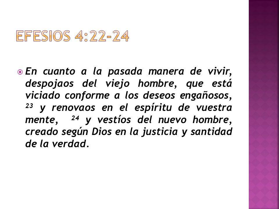 Verdadero conocimiento de Dios Justicia Santidad