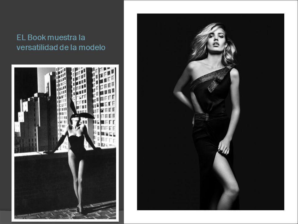 Características del Book Un book contiene por lo general de 10 a 12 fotos aunque puede contener más dependiendo de la experiencia de la modelo.