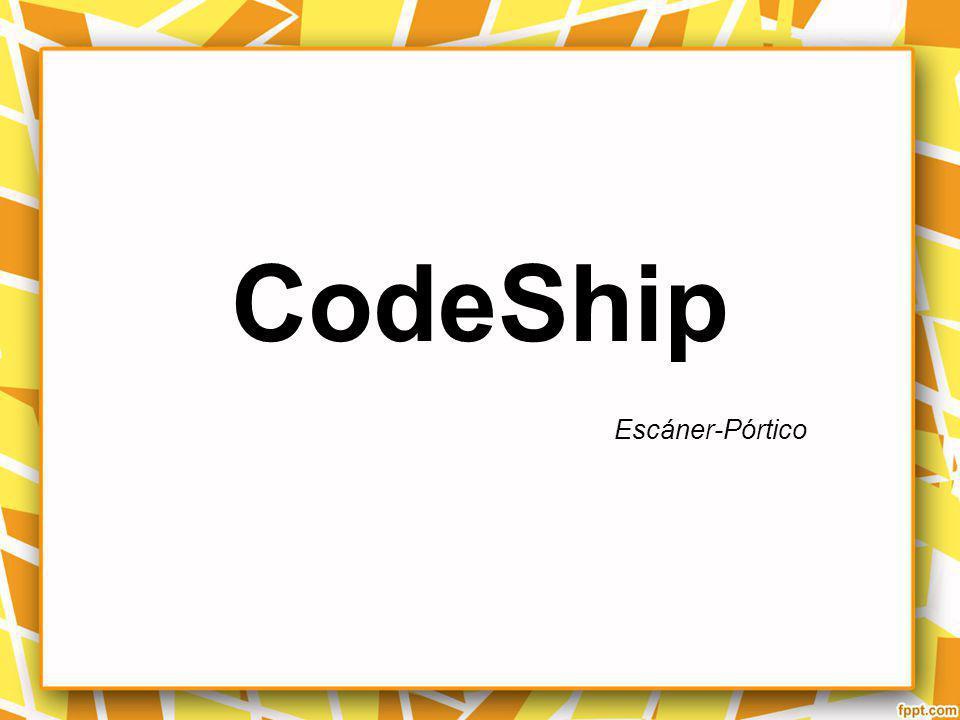 CodeShip Escáner-Pórtico