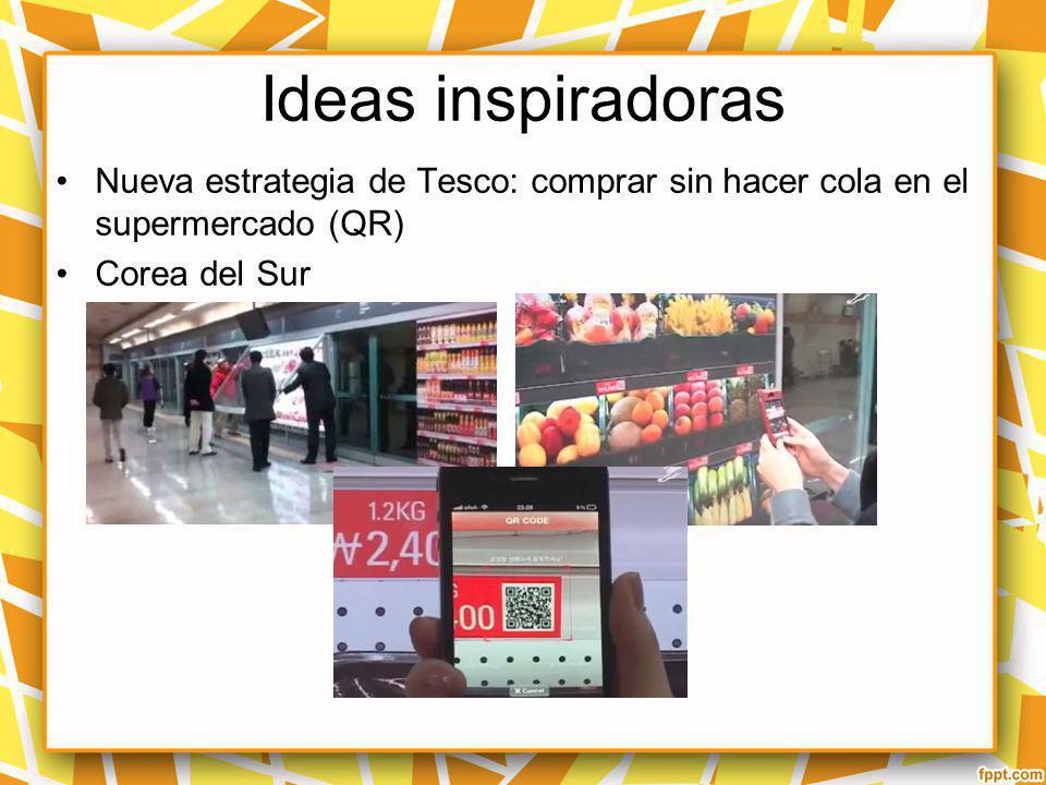 Ideas inspiradoras Nueva estrategia de Tesco: comprar sin hacer cola en el supermercado (QR) Corea del Sur http://nicolasviroga.com/2012/02/24/nueva-e
