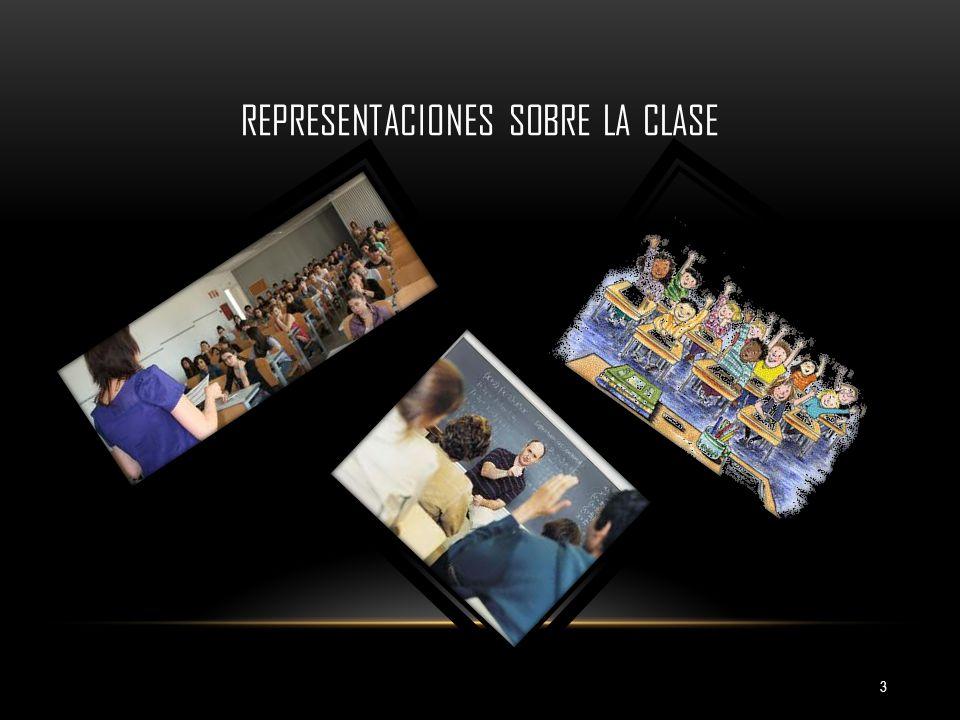 REPRESENTACIONES SOBRE LA CLASE 3