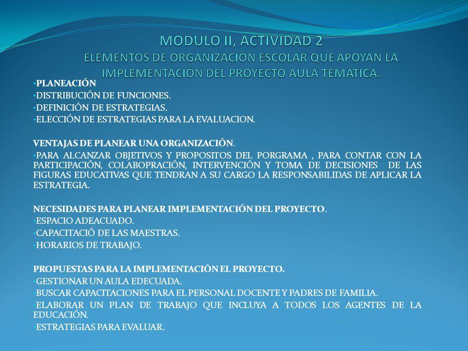 ACTIVIDAD 3 ORGANIZACIÓN PARA EL USO DEL AULA TELEMATICA.