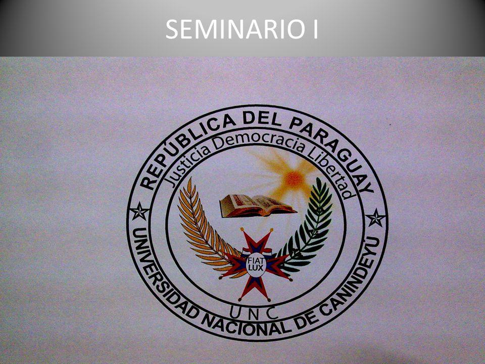 SEMINARIO I