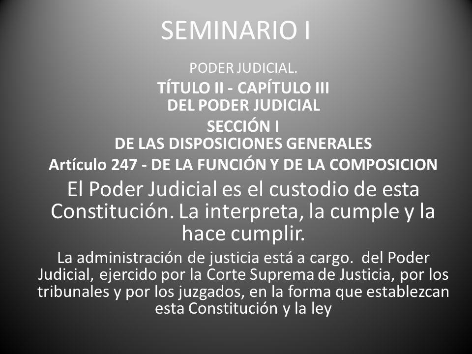 PRINCIPIOS DE COMPETENCIA: La Garantía de Fijeza (de Radicación).