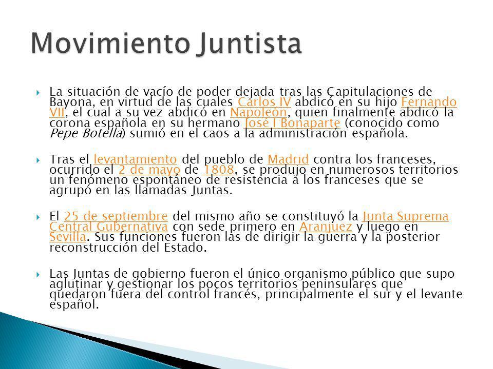 Independencia de las colonias españolas: algunos líderes pensaron que la mejor forma de organización política eran las confederaciones.