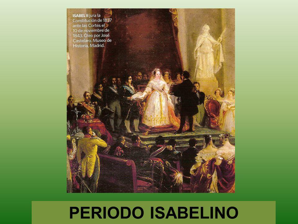 PERIODO ISABELINO