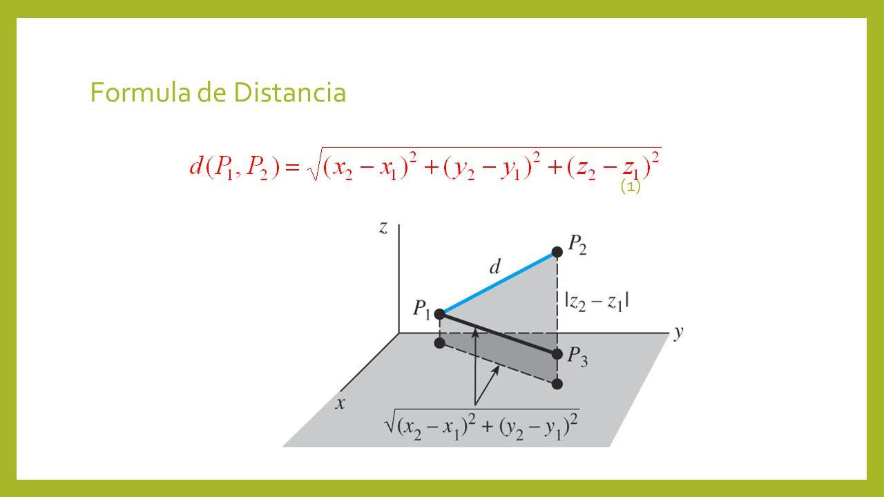 Formula de Distancia (1)