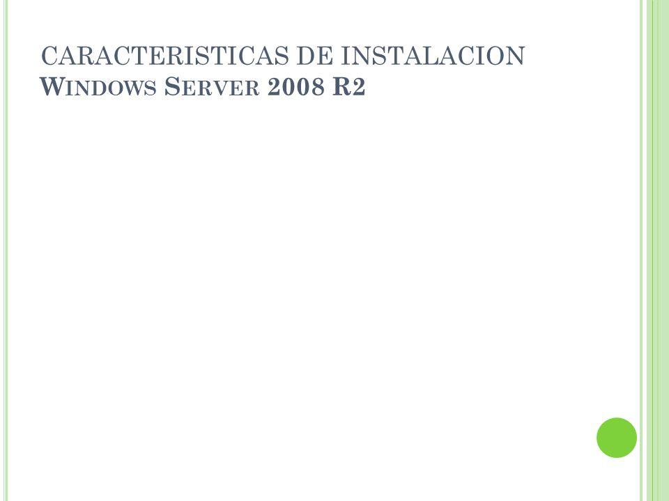 I NSTALAR W INDOWS S ERVER 2008 R2 Microsoft introdujo Windows Server 2008 R2 en la Professional Developers Conference (PDC) del 2008 como una variante de servidor del nuevo sistema operativo Windows 7.