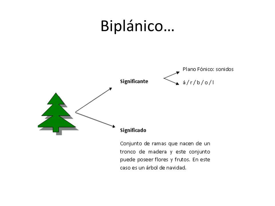 Biplánico…