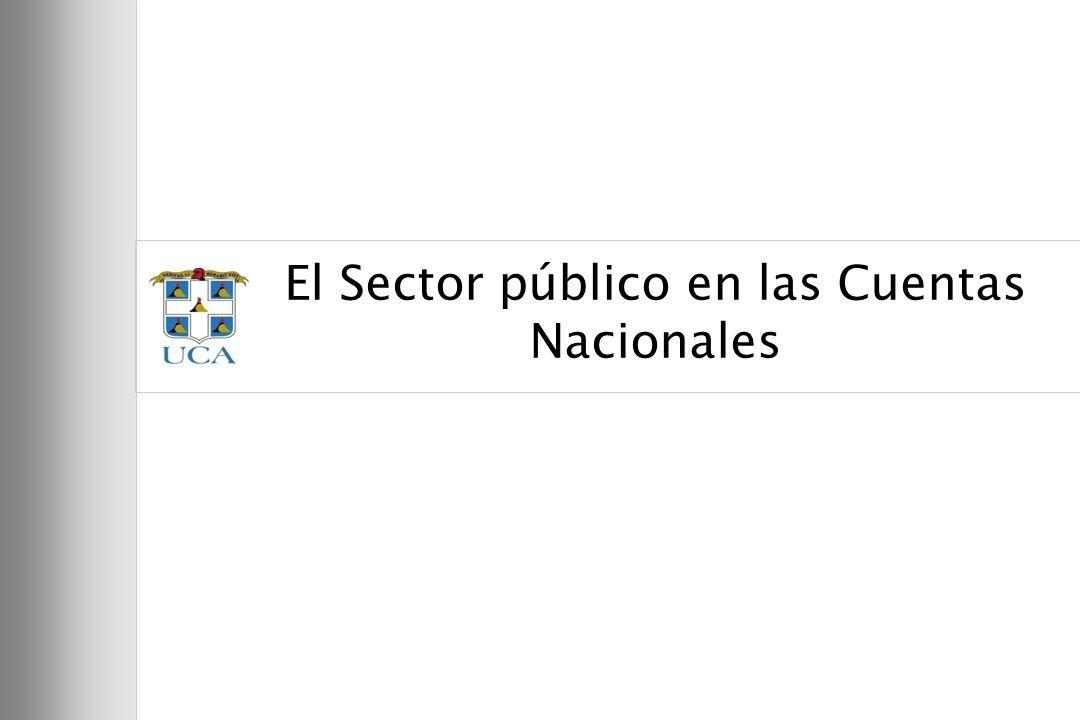 18 El Sector público en las Cuentas Nacionales