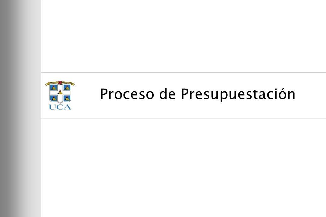 59 Proceso de Presupuestación