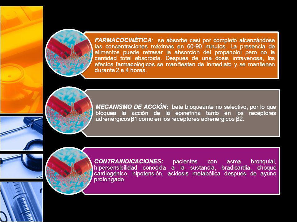 Efectos de los Vasodilatadores: Aumentan el flujo sanguíneo tisular Reducen la Tensión Arterial Reducen la Presión Venosa Efecto Neto: Disminución de la Precarga (Presión/volumen de llenado) Disminución de la Postcarga (Resistencia Vascular)