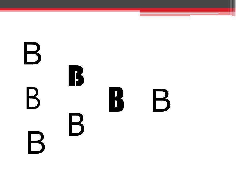B B B B B B B