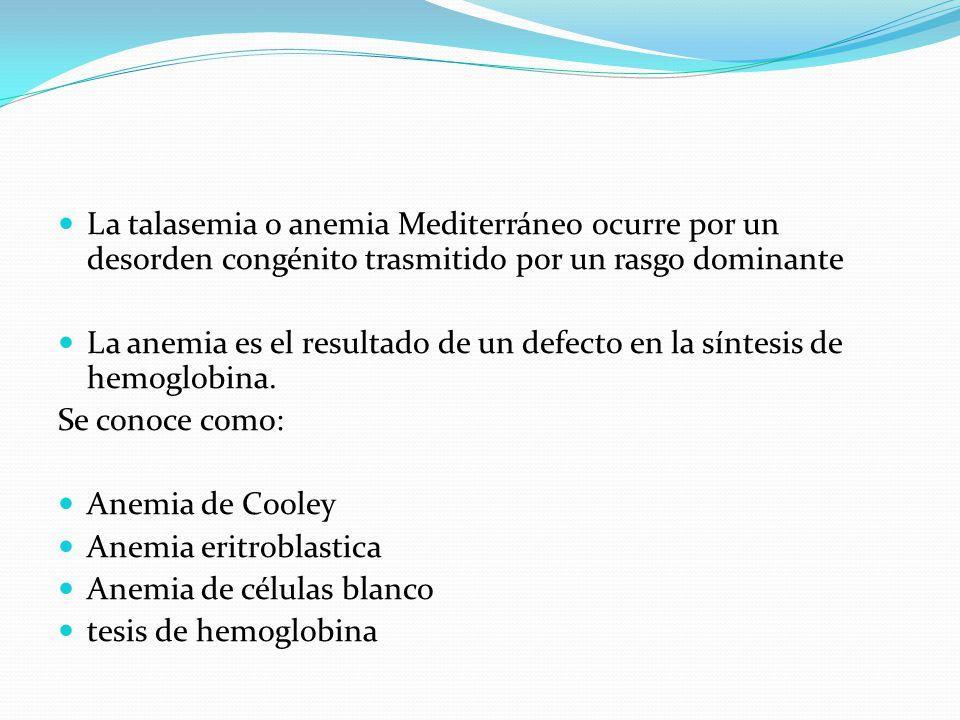 Se manifiesta por: Anemia crónica Ictericia Esplenomegalia La esplenectomía esta indicada en Síntomas masivos asociados Esplenomegalia marcada Episodios repetidos de dolor abdominal por infarto esplénico