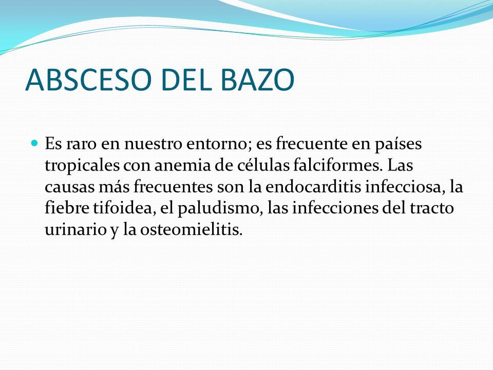 La enfermedad de Gaucher) se manifiesta clínicamente hepatoesplenomegalia e hiperesplenismo (trombopenia, anemia y leucopenia).