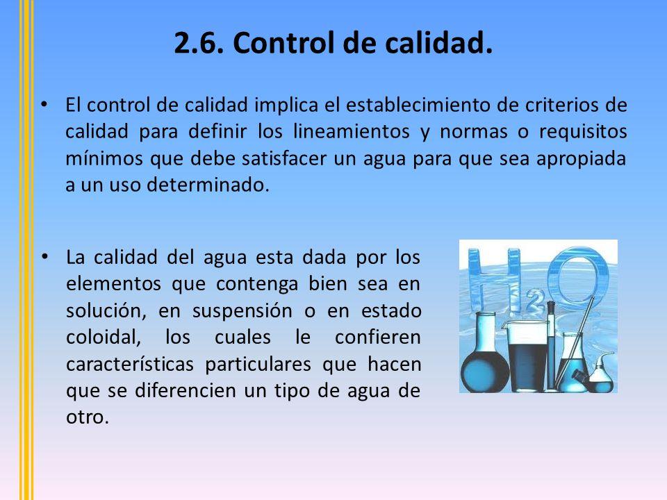 2.6.Control de calidad.