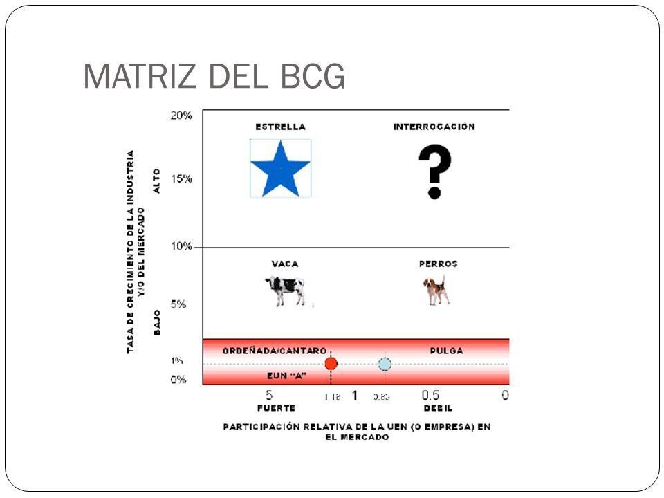MATRIZ DEL BCG