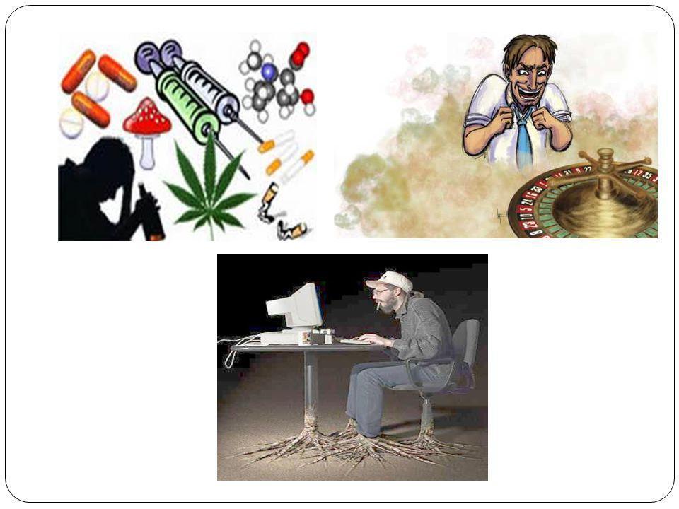 Mental: Se convierte en un trastorno, la consecuencia del consumo excesivo hace que el adicto vea a su sustancia de predilección como algo inofensivo, que el puede controlar y no es tan perjudicial para la salud (el adicto defiende su consumo).