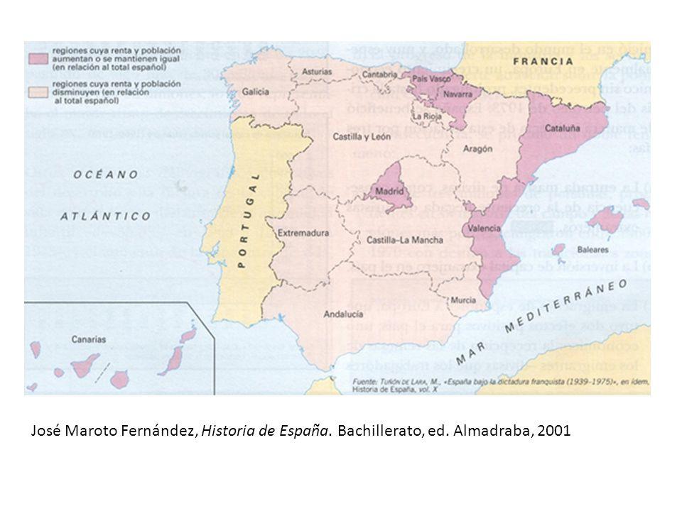 José Maroto Fernández, Historia de España. Bachillerato, ed. Almadraba, 2001