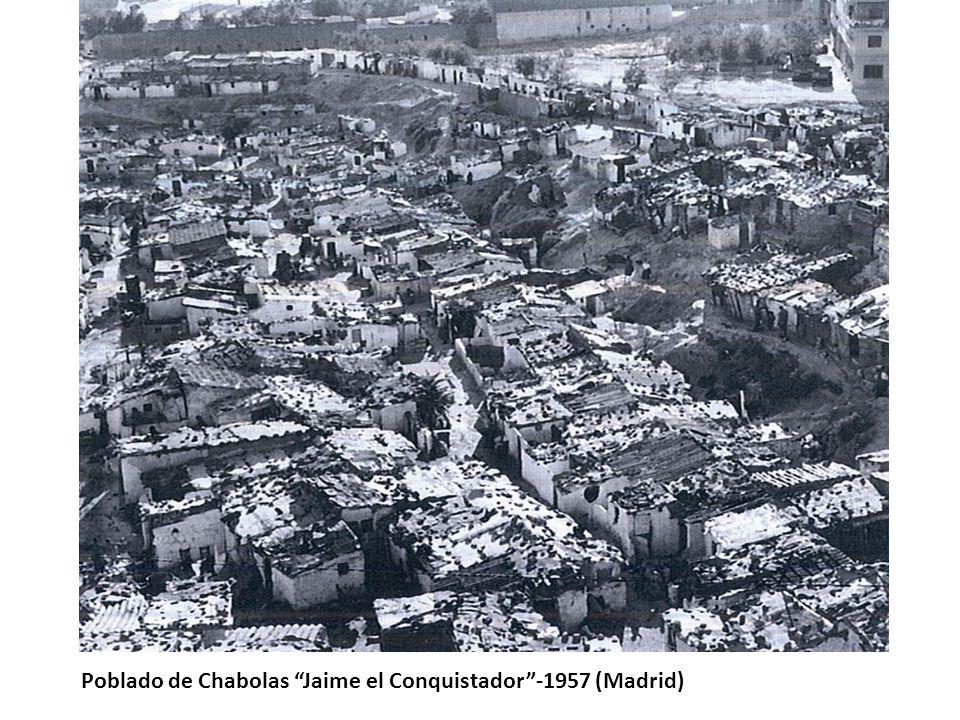 Poblado de Chabolas Jaime el Conquistador-1957 (Madrid)