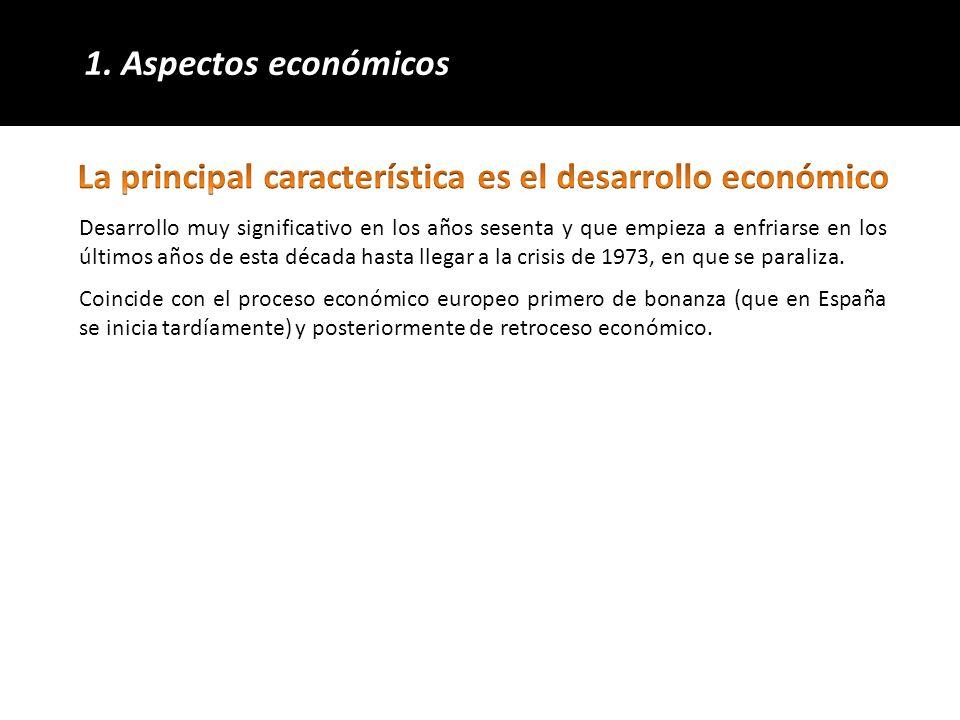 OBJETIVO: abandonar el sistema autárquico y modernizar, liberalizar, racionalizar y sanear la economía nacional.