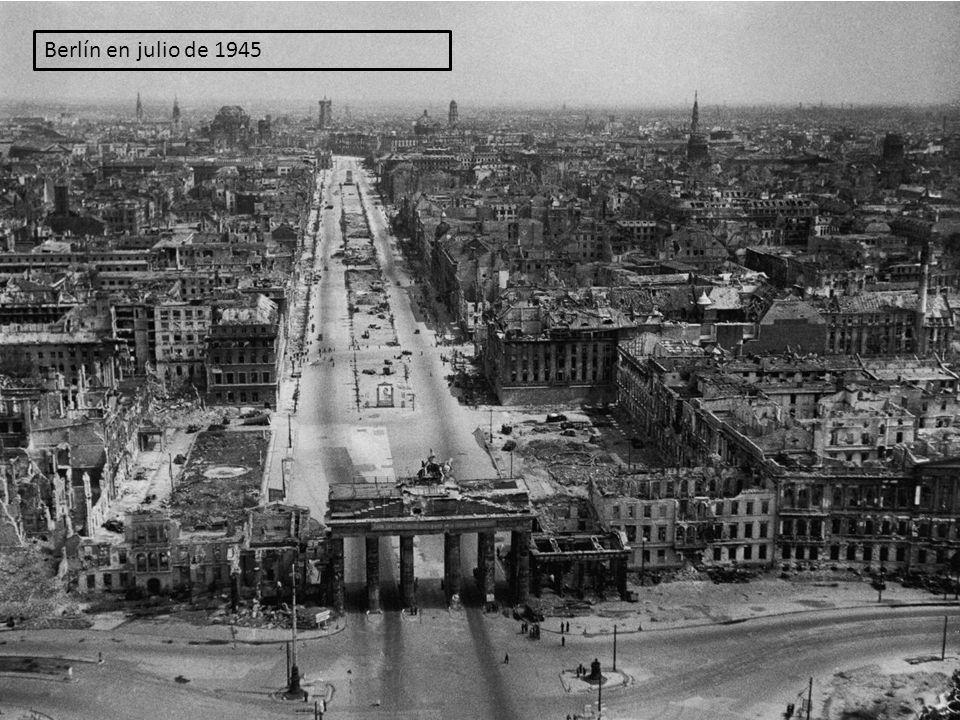 Berlín en julio de 1945
