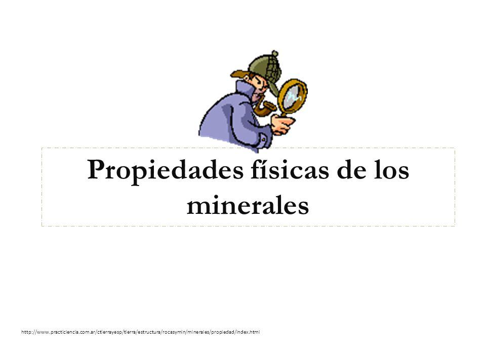 La Tierra está hecha de Minerales