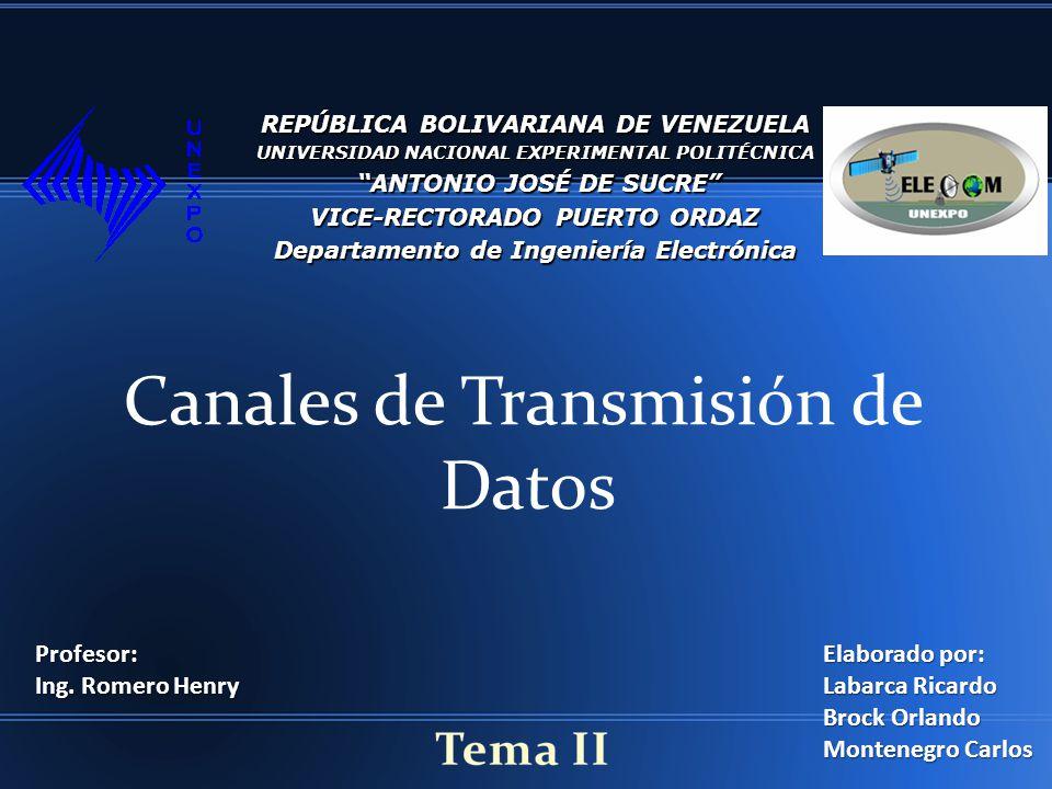 Características del canal de Transmisión Las limitaciones para una canal de transmisión, en cuanto al ancho de banda, dificultad de transmisión, interferencias y velocidad, surgen mayormente por las características físicas del canal o del transmisor utilizado.