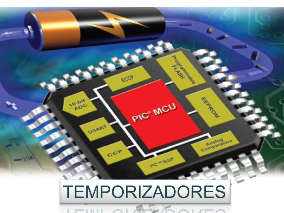 Temporizadores Timer0 (TMR0): Temporizador-Contador de 8 bits con Preescaler de 8 bits (16F877).