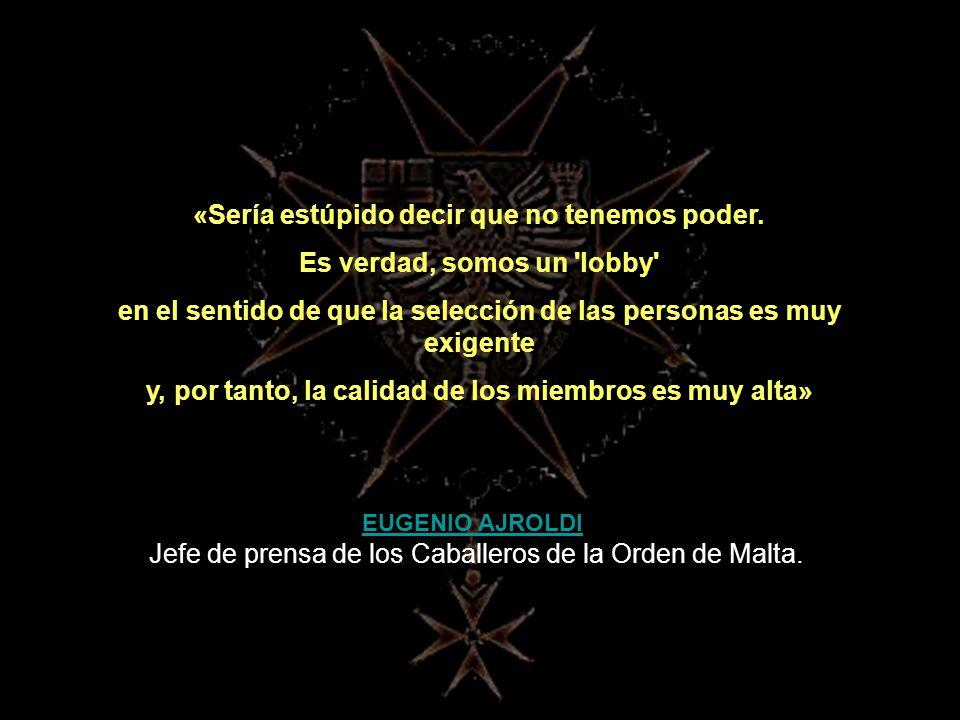 Este artículo es continuación de SOBERANA ORDEN MILITAR DE MALTA I. Su lectura es necesaria para la total comprensión del tema.