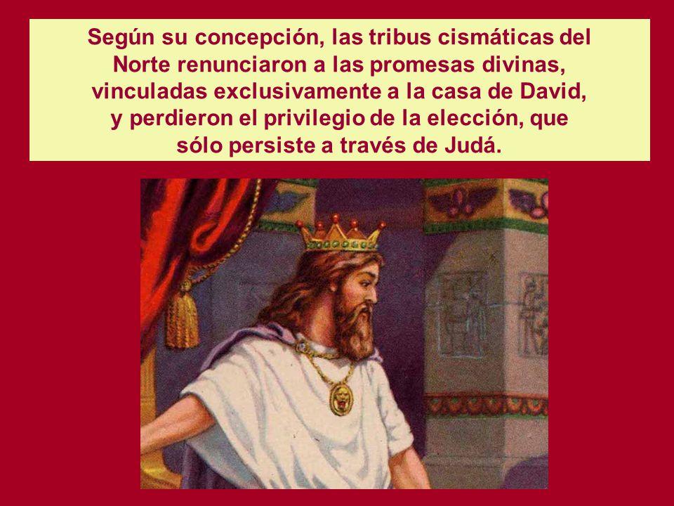 EL REINO DE JUDA HASTA EL EXILIO BABILONICO A partir del cisma político y religioso, que despojó a la dinastía davídica de su hegemonía sobre las trib