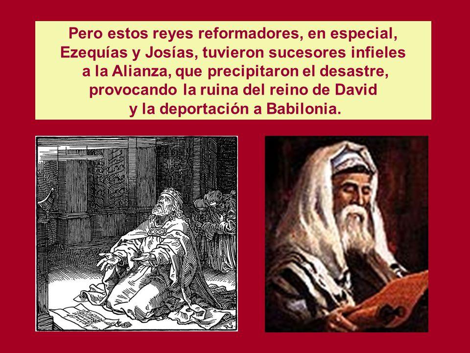 La historia de los sucesores de David y Salomón, como la de estos mismos, está centrada en el Templo de Jerusalén. El Cronista dedica especial atenció
