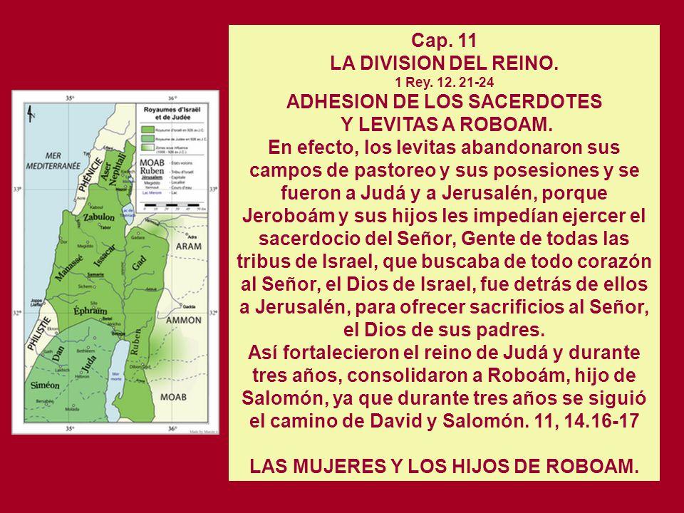 Cap 10 LA ASAMBLEA DE SIQUÉM (933) 1 Rey. 12. 1-19 Roboám se dirigió a Siquém, porque allí había ido todo Israel para proclamarlo rey. Y cuando todo I