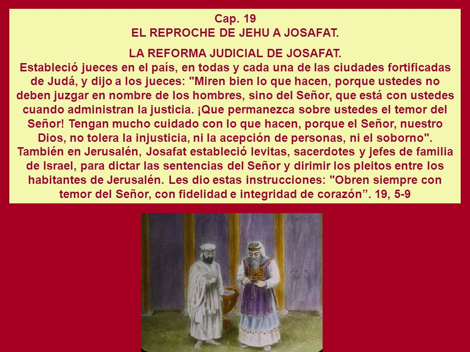 LA INTERVENCION DEL PROFETA MIQUEAS. 1 Rey. 22. 13-28 Miqueas dijo entonces: