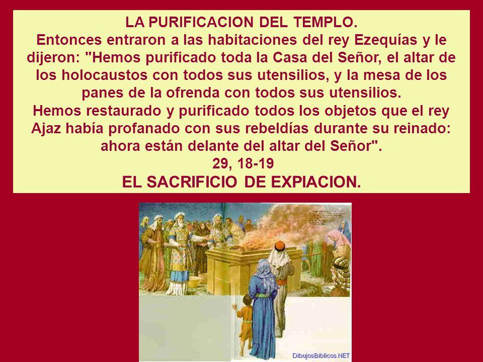 Cap. 29 EL REINADO DE EZEQUIAS EN JUDA (716-687) 2 Rey. 18. 1-3 LA REFORMA RELIGIOSA DE EZEQUIAS Ahora yo quiero hacer una alianza con el Señor, el Di