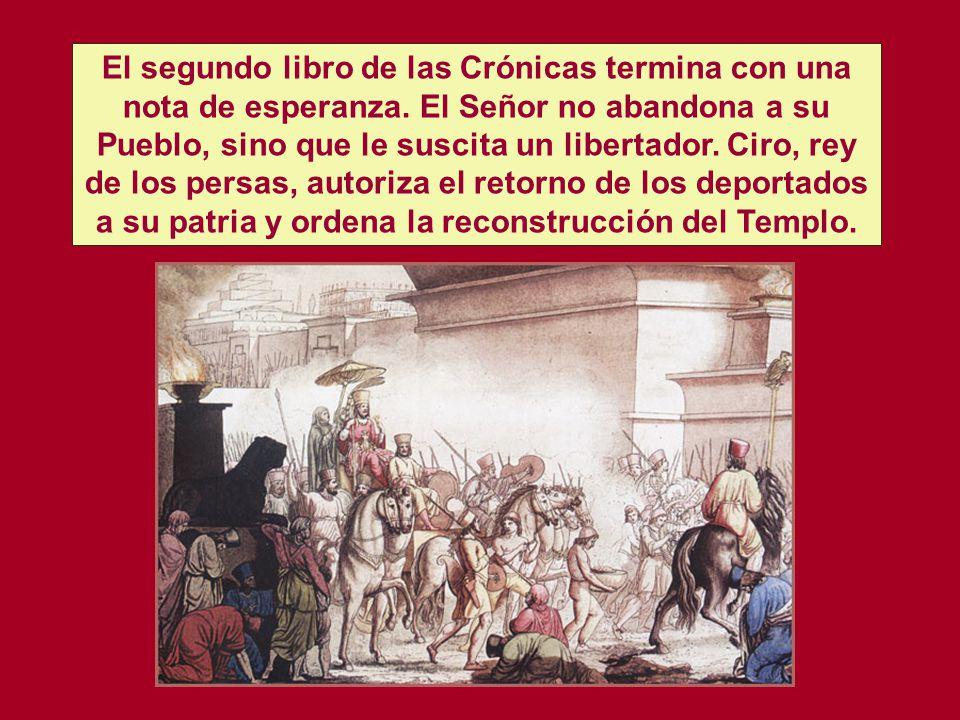 LA RUINA DE JERUSALÉN Y LA DEPORTACIÓN A BABILONIA (587) 2 Rey. 25. 8-21 ESPERANZA PARA EL PORVENIR. Esd. 1. 1-3